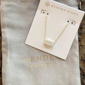 Kendra Scott White Stone Necklace